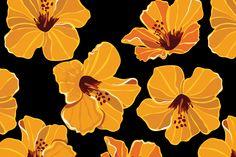 Seamless flower pattern by Barcelona Design Shop on Creative Market