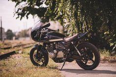 Kawasaki Zephyr 550 Cafe Racer by Retro Bikes Croatia