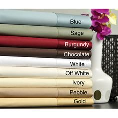 Egyptian Cotton 630 Thread Count Sheet Set | Overstock.com Shopping - Great Deals on Sheets