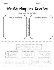 Weathering and Erosion | Worksheets and Weather