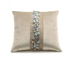 Pearl - #Luxury #Pillow. Made in Italy by Bagnaresi.