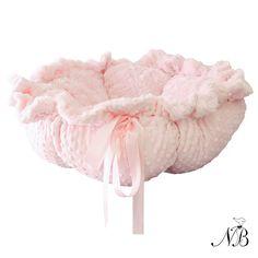 Flower Pet Dog Bed - Pink Dottie | Neiman Barkus Couture