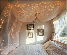 100er LED Lichterkette Warmweiß Innen für Weihnachten Hochzeit Zimmer Beleuchtung 220V-8 Funktiontypen-Memory-Verlängerbar (warmweiß): Amazon.de: Beleuchtung