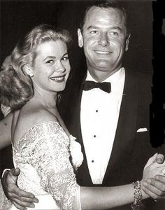 Gig Young & Elizabeth Montgomery...her second marriage...he was an abusive alcoholic...