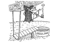 What would really happen in the US if there was a Zombie outbreak
