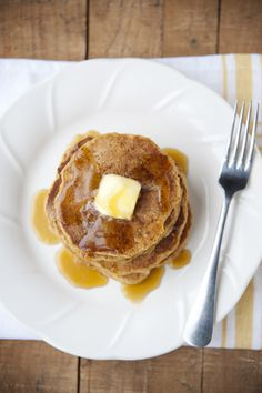 Pumpkin Apple Pancakes