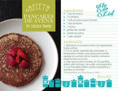 Receta: Pancakes de Avena