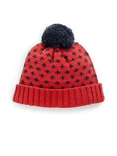 What can I say... its red! :) Michael Bastian Snowflake Pom / Saks