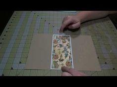 Scrapbook Tutorial: Double Slider Pocket