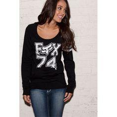 fox sweatshirt <3
