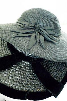 straw hats 1930's