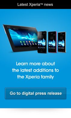 New Xperia smartphone series with Sony's best HD experiences deliver next step in connected entertainment - Corporate - press releases - Sony Xperia