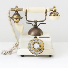 So Classic. French Rotary Phone.
