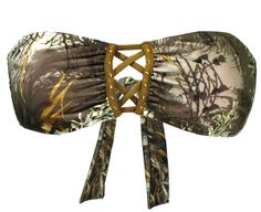 2013 Realtree Camo Swimsuits | Max-1 Camo Bandeau Swimsuits $45.99