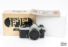 Nikon FE 35mm film SLR Chrome Camera Body Boxed Stunning Condition! 3022109