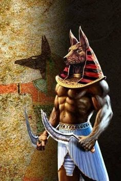Ancient Egypt Religion, Gods, goddesses, priests and Priestesses Ancient Egypt Religion, Ancient Egypt Art, Egyptian Mythology, Egyptian Symbols, Egypt Concept Art, Egyptian Artwork, Anubis Tattoo, Gods And Goddesses, Furry Art