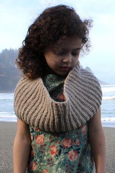 lost coast // trinidad cowl by ashley hurst in quince & co. owl