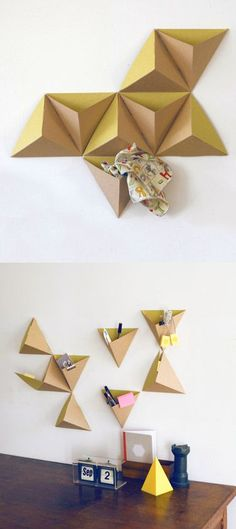 Pyramid Cardboard Storage Boxes: