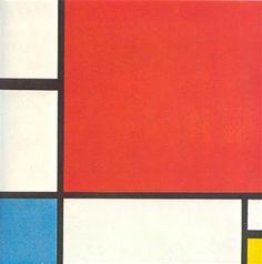 Piet Mondrian - Composition with Red, Blue and Yellow, 1930