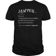 Lawyer - wizard - magician - Tshirt