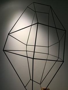 Welded lines in space, 2015  By Giovanni Luca Ferreri