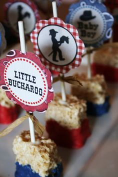 And Everything Sweet: Little Buckaroo Baby Shower