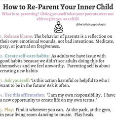 Reposted from - from - - Most adults are walking around with deep emotional wounds from childhood. Some are aware but many others are not. An inner child lives within each of us. - In childhood we pick Trauma, Mental And Emotional Health, Emotional Healing, Inner Child Healing, Self Awareness, Coping Skills, Self Development, Self Improvement, Self Help