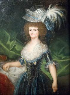 Retrato de María Luisa de Parma, Reina de España (Francisco de Goya) Arte-Paisaje