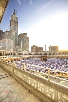 Find images and videos about islam, muslim and allah on We Heart It - the app to get lost in what you love. Masjid Al Haram, Mecca Masjid, Islamic Images, Islamic Pictures, Islamic Art, Islamic Quotes, Religion, Mekkah, Beautiful Mosques