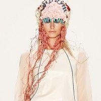 headgear by Candice Angélini, Berlin fashion week