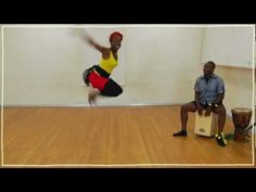 Five(ish) Minute Dance Lesson: African Dance: Lesson 1: Dinhe - YouTube a bunch on this channel