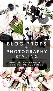 Blog props & photography styling
