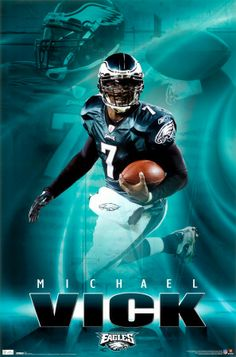 Michael Vick | Eagles - Michael Vick 2010 Póster