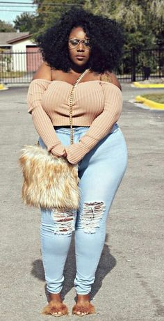 49adf93a45b Plus size outfits with jeans on Stylevore Plus size jeans and style