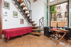 Another AirBnb possibility Apartment in Roma, Italy. Apartment of 40m in the city center (50mt. from Piazza Santa Maria and 25mt from Piazza San Calisto). It is composed of a open space-living room with kitchen, studio, bedroom and bathroom. Perfect for a couple but we can arrange an extra bed.  A f...