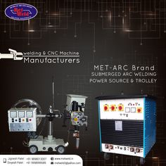 welding & CNC Machine #Manufacturers,MET-ARC Brand #Submerged ARC #Welding #Power Source & Trolley. #Metweld