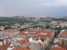 View from kostel sv Bartoloměje (Saint Bartholomy church)