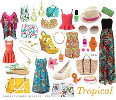 3c28ae1c5e7e4 conjunto de prendas y accesorios básicos en verano Tendencias De Moda