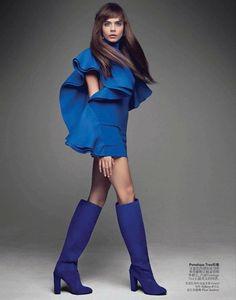 Cara Delevingne : Vogue China June 2013 : Patrick Demarchelier