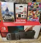 #videogames #Gamers #nintendo switch Nintendo Switch Console with Gray Joy-Con Bundle Mario Kart 8, Zelda, 128gb SD 699.77   Nintendo Switch Console with Gray Joy-Con Bundle Mario Kart 8, Zelda, 128gb SD  Price : 699.77  Ends on : Ended Nintendo Switch Console with Gray Joy-Con Bundle Mario Kart...