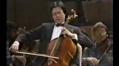 Yo-Yo Ma playing 'The Swan' by Saint-Saens. This is my favorite song of all time.