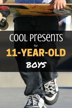 Really Cool Presents for 11-Year-Old Boys!: