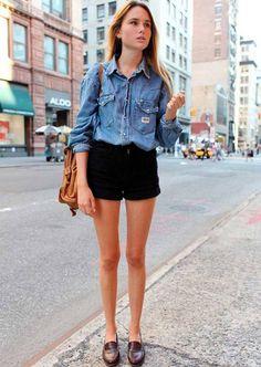mocassim-shorts-camisa