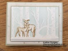 Stampin' Up! In The Meadow | stampwithkathie.com
