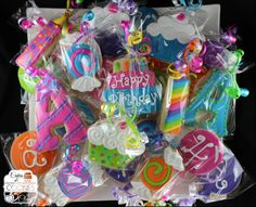 Birthday Party Cookie Party Favors by Cakes & Cookies by Clau