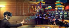The Top 10 Best Virtual Reality Casino and Slot Apps You Can Play Casino Party, Casino Games, Best Virtual Reality, Virtual Reality Headset, Online Gambling, Best Online Casino, Htc Vive, Las Vegas, Software
