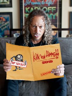 What evil does Kirk Von Hammett have in store for you in 2015? Stay tuned to find out!