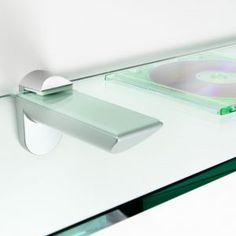 Wall Brackets For Glass Shelves