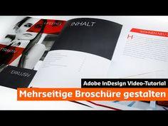 Eine moderne Broschüre mit InDesign gestalten (Tutorial + Unboxing) - YouTube