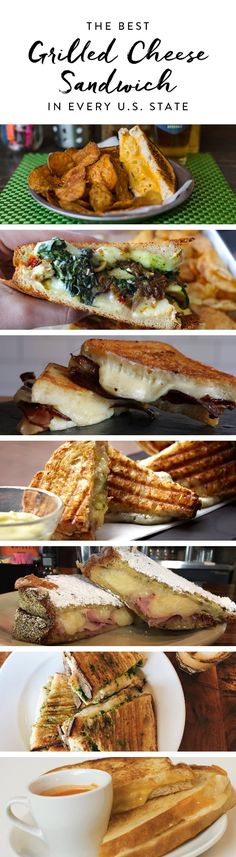 The Best Grilled Cheese Sandwich in Every U.S. State via @PureWow